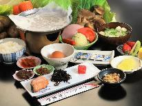 【朝食付】身体にやさしい 和朝食をご用意♪朝はしっかり食べて 心と身体を一休み。。