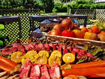 【7/1~9/30限定】バーベキュー専用ガーデンで淡路牛BBQ♪【機材無料貸出】