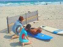 サーフィン体験レッスンプラン♪ サーフィンやってみた~い!という方一押し!! 2食付き