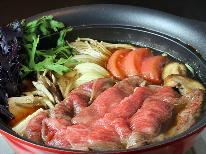 【冬季期間限定】冬の贅沢といえばこれ♪鍋料理人気No.1!!常陸牛のすき焼きプラン