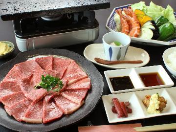 お肉大好きな方はこれで決まり!!黒毛和牛焼き肉1泊2食付き(*^▽^*)