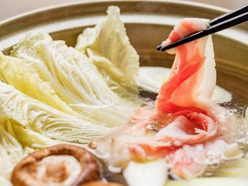 【連泊専用】女将絶賛のたのしみ鍋をご用意+゜☆神鍋で楽しいひと時を♪〔1泊2食付き〕