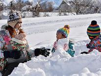 【春スキー 2食付】黒姫高原スノーパーク リフト1日券付き♪格安で滑って泊まれる!ファミリープラン