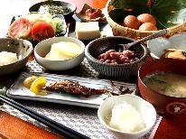 これぞ民宿の朝ごはん‼とれたて野菜を召し上がれ♪
