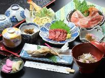 【貸切風呂無料】当館一番人気!信州の旬彩創作料理が頂けるスタンダードプラン【1泊2食付】