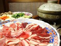 【季節限定☆グレードアップ】 低カロリー高タンパク「ぼたん鍋」で温まる♪ 《贅沢会席》 【1泊2食】