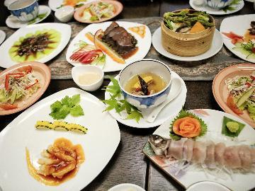 【お好みお聞かせください】中国出身シェフがお客様に合わせてつくる ~赤沢風~創作中華【1泊2食】