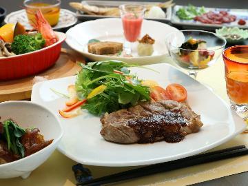 【1泊2食】色鮮やかな創作料理を楽しむ!当館自慢のスタンダード☆