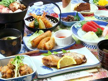 【2食付】和食とエスニック料理のイイトコ取り!安心&自慢の2食付【Wi-Fi無料】