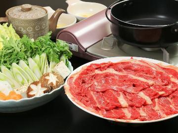 【基本と同料金で特選「桜鍋」付き】+馬刺しも食べれる ヘルシープラン