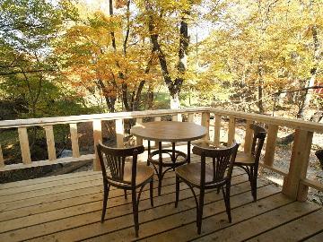 【特典付】紅葉に囲まれたログコテージでBBQ☆ゴンドラから秋色に染まる那須高原を一望!《1泊夕食付》