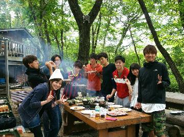 【9月限定】学生グループ応援★ログハウスで仲間と一緒に思い出作り☆写真撮影サービス!《素泊まり》