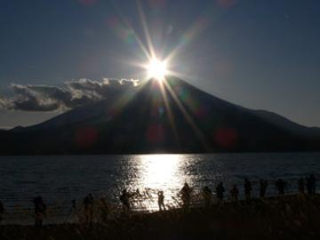 【山中湖DIAMOND FUJI WEEKS】☆アイスキャンドルフェスティバル☆《1泊2食付》