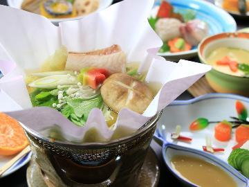 【一泊二食 スタンダード】♦観光のお客様にもご好評の野菜と魚を生かしたヘルシー会席♦