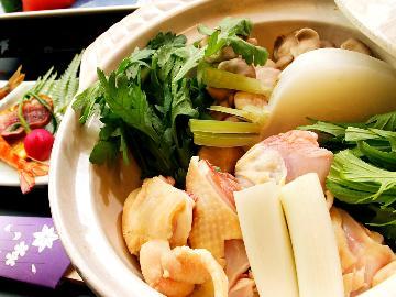 ◆竹島水族館◆三河鶏の水炊き白仕立て◆当館ご利用券をプレゼント◆1泊2食付き