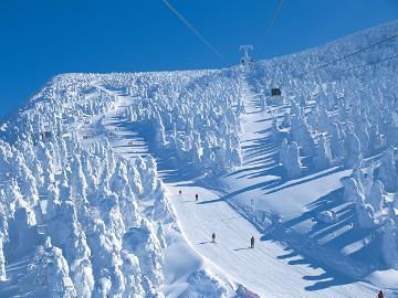 【1/11~12限定】連泊で遊び尽くそう!スキー・スノボに、樹氷鑑賞にオススメ♪≪2泊4食≫