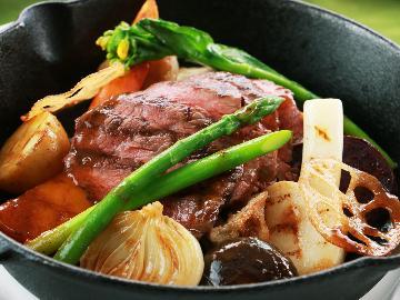 【母娘旅】嬉しい特典付で贅沢気分♪希少な那須和牛と旬の那須野菜を堪能しよう