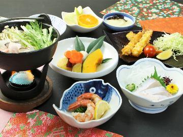 地元朝来の食材をお客様に。四季で変化する会席料理♪1泊2食プラン