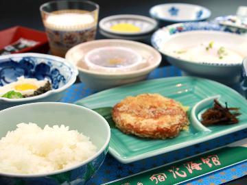 【1泊朝食】炊きたてご飯の朝食は地元ブランド米使用♪加水・加温一切なしの天然温泉は24時間入浴OK