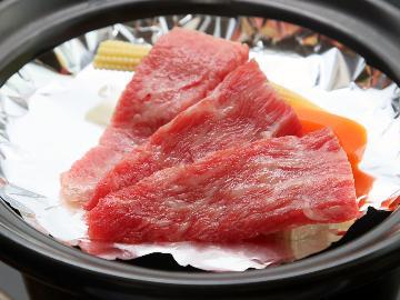 【会場食】期間限定◆7月までの特別プラン!◆1万円ポッキリ!鳳来牛のミニ陶板焼き