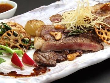【期間限定】今だけ栃木県産のステーキプランがお得♪地元食材と旬の素材を生かした創作料理[1泊2食]