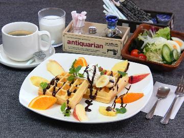 【一泊朝食】 大人気!選べるモーニングセット付き♪チェックイン21時までOK!朝食のみプラン
