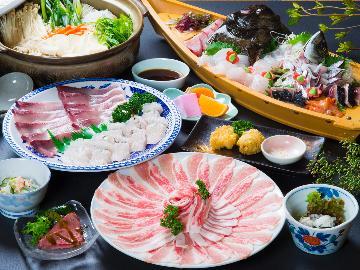 【季節限定】旬のお魚をしゃぶしゃぶで!違った旨味を堪能♪【ーしゃぶ鍋・並ー】