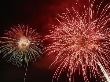 【7/27限定】笛吹川県下納涼花火大会◆夏の到来を告げる花火を愉しむ《特典付》