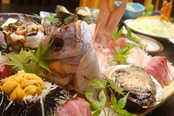 【活アワビ】潜り漁も♪磯の幸堪能プラン