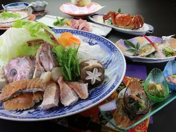 【HP限定】平成最後の『鶴の恩返し』プラン☆厳選地物海鮮鍋コースを感謝の特別価格で♪