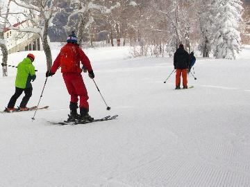 ★【スキー用品レンタル無料☆彡】手ぶらでお得にスキー旅行*゜宿泊当日レンタルセット付■1泊2食付
