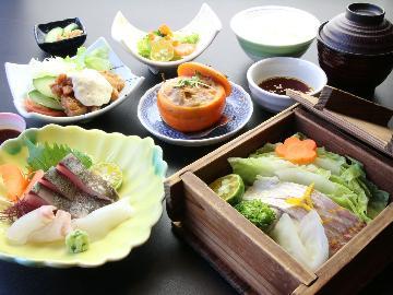 【定番2食付】人気です★旬菜旬魚の食事付きプラン