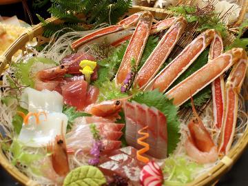 【当館1番人気!】≪かに3杯使用 全10品≫大蟹フルコース