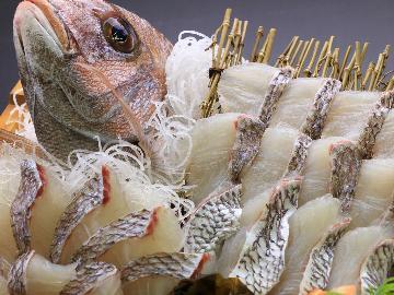 天草育ちの海幸★旬の鯛をしゃぶしゃぶで!★≪1泊2食付≫