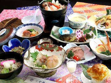 【新潟県民限定】人気No1『花の舞-hana-』コースが10%OFF!近場でお得に♪[夕食お部屋食]