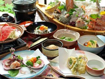 大人気の舟盛「すずらん丸」と旬の地魚煮付け♪海幸お魚会席【春海-syunkai-】