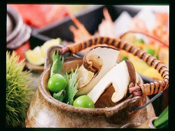 ≪HP限定新プラン≫秋の大様『松茸』と旬魚の舟盛のコラボ♪山海の幸おまかせ会席