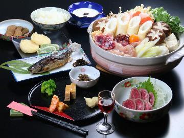 【地酒三種飲み比べ】群馬・岩手・秋田の清き水から作られた、地酒を飲み比べで楽しむ。【1泊2食付】