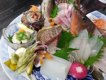 ☆朝獲れ鮮魚、豪華刺身盛り・海の幸プラン