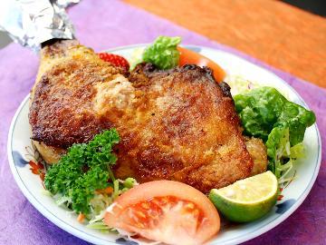 ★徳島自慢★ 阿波尾鶏ワイルドスパイシー焼き付き一泊二食付きプラン