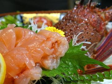 ぷりっぷり伊勢海老付☆豪華海鮮料理プラン