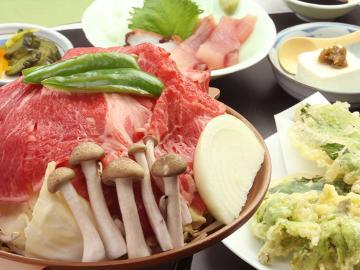 【旬のお野菜満喫】陶板焼きで蒸して食す!-1泊2食付