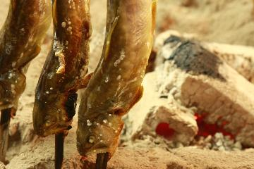【日にち限定】絶品!岩魚の炭火焼♪飛騨牛陶板焼き◎天ぷらのシンプル夕食★2食付