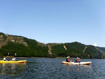 ≪10月限定≫若狭三方五湖☆水月湖カヤック体験3時間コース&2食付きプラン