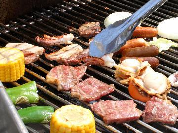 【ガーデンBBQ】お肉と魚介モリモリ行こう!「楽しい」をギュッとお届け☆BBQ満喫プラン
