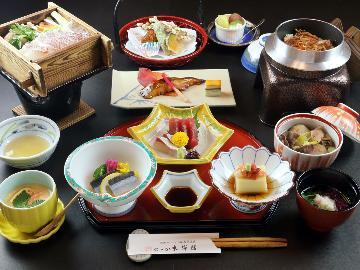 【季の舞-toki-】1泊2食基本プラン♪あったまり温泉と旬懐石◆のゝか
