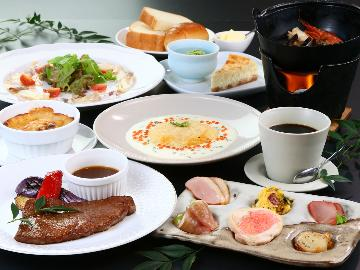 HP特別価格☆【洋食コース】お魚もお肉も!彩り鮮やか★創作洋食フルコースプラン[1泊2食] ◆1日1組限定