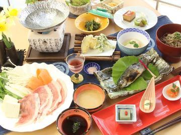【オススメ!】信州の旬が満載♪お料理おまかせスタンダードプラン【1泊2食付】