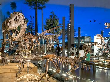 お子様に特典付き☆大人気!!日本最大級★恐竜博物館へGO♪[1泊2食付]