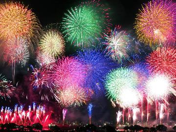 7/28は二市一ヶ村日橋川『川の祭典』!早めの夕食の後に花火大会を思い切り楽しもう♪【特典付】